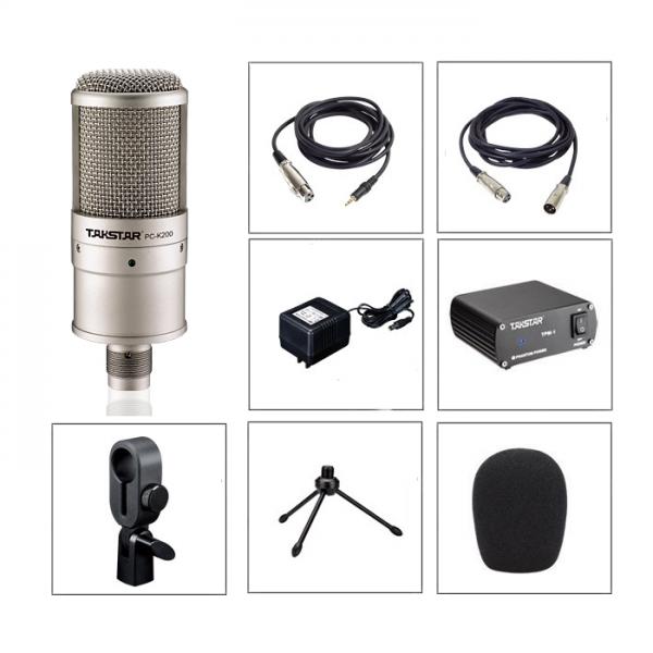 mic thu âm pc k200 2