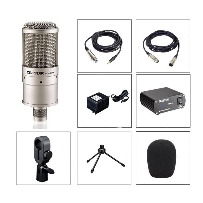 mic thu âm pc k200 16046