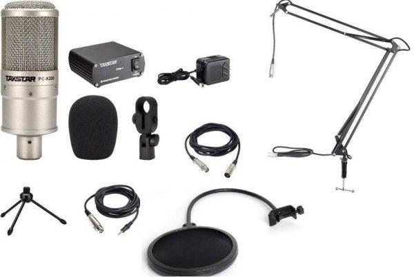 mic thu âm pc k200 3