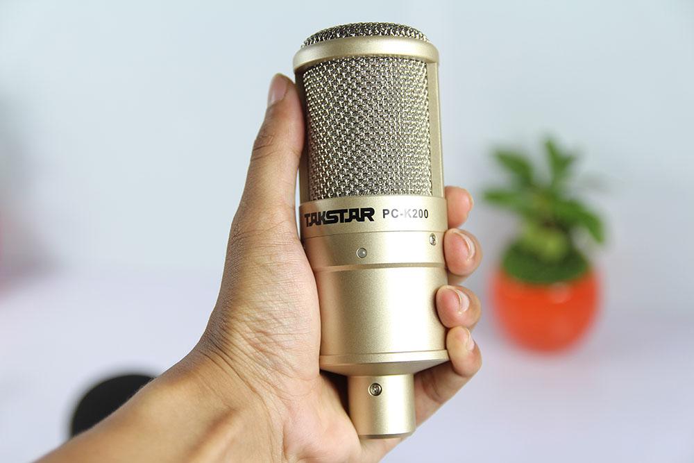mic thu âm pc k200 1
