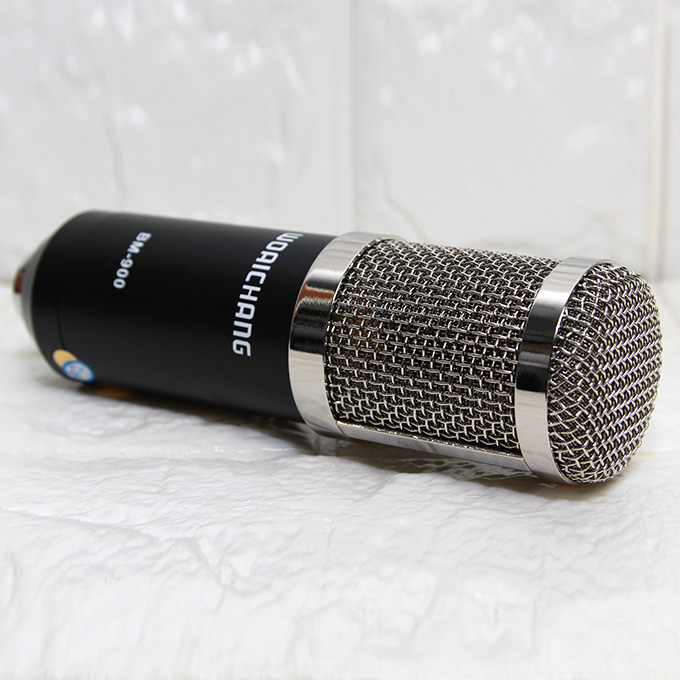 mic thu âm woaichang bm900 2