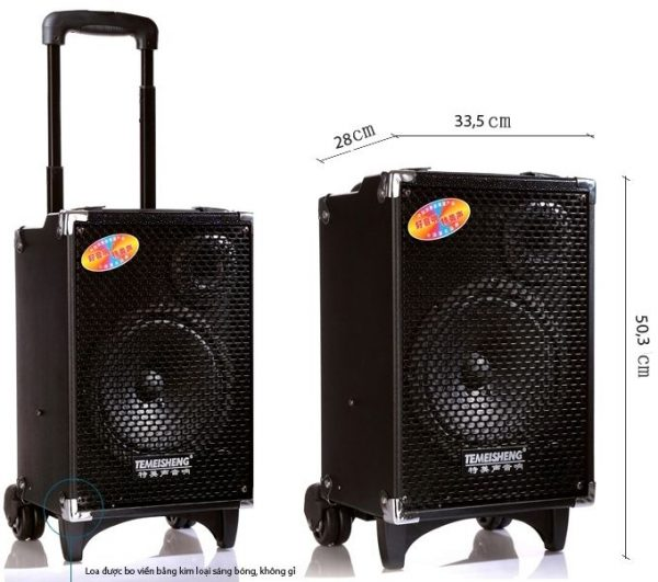loa kéo karaoke di động q10 2