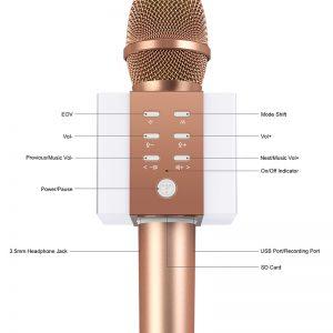 mic karaoke bluetooth giá rẻ 5
