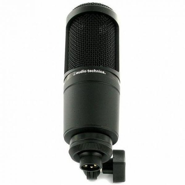 mic thu âm audio technica at2020 5