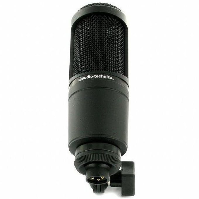 mic thu âm audio technica at2020