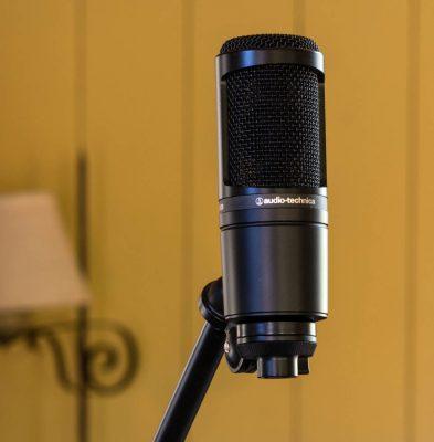 mic thu âm audio technica at2020 6
