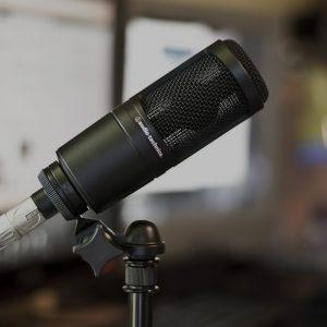 mic thu âm audio technica at2020 1