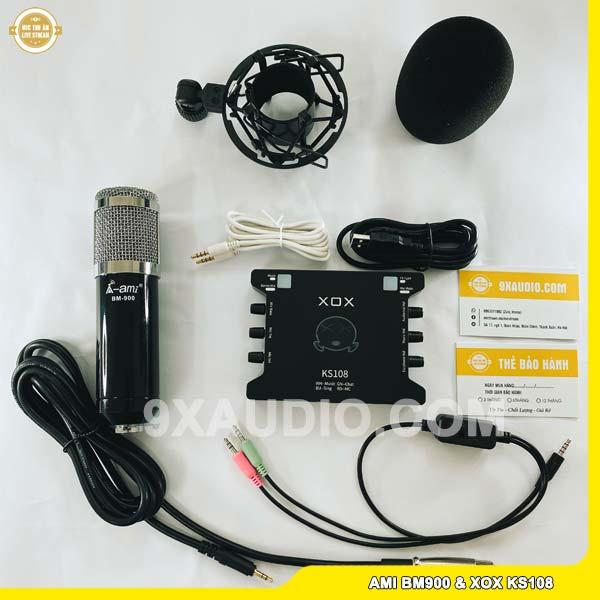 mic thu âm ami bm900 ks108 1