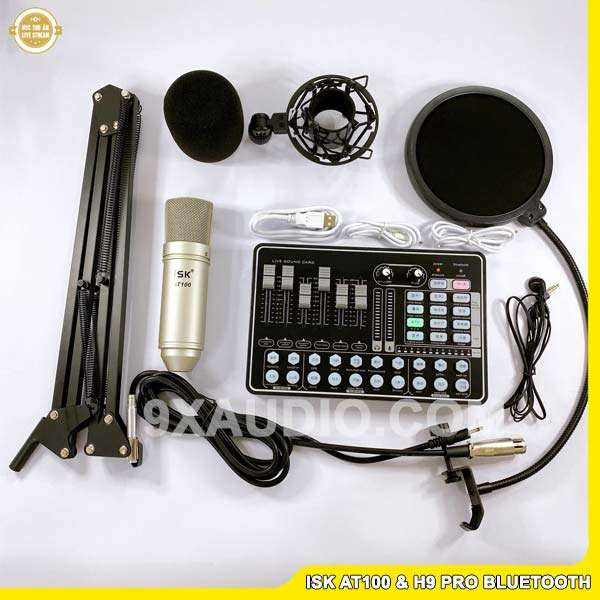 mic thu âm isk at100 h9