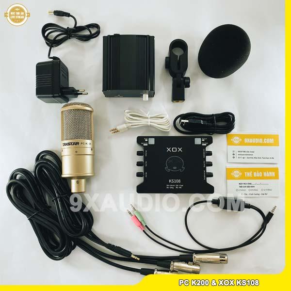 mic thu âm pc k200 ks108 1