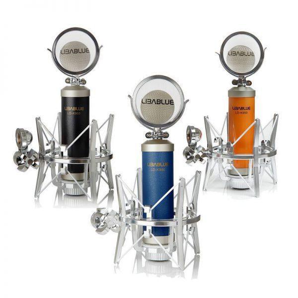 mic thu âm libablue k950 5