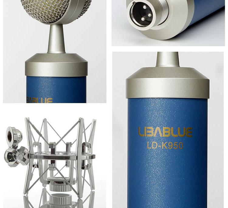mic thu âm libablue k950