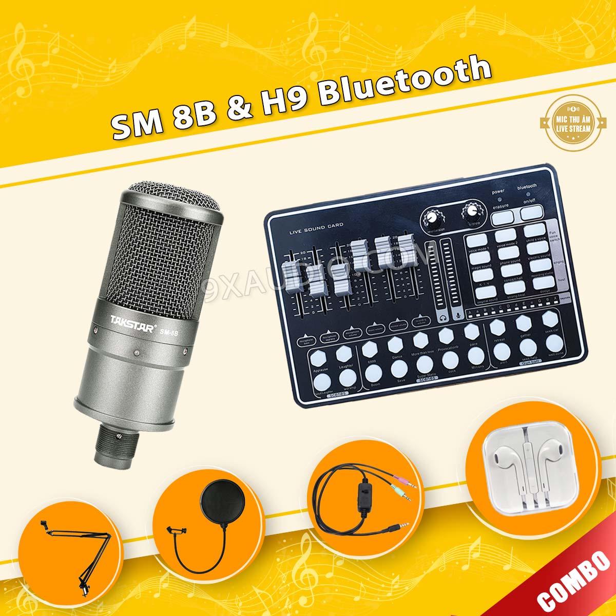 mic thu âm takstar sm 8b h9 pro new 1