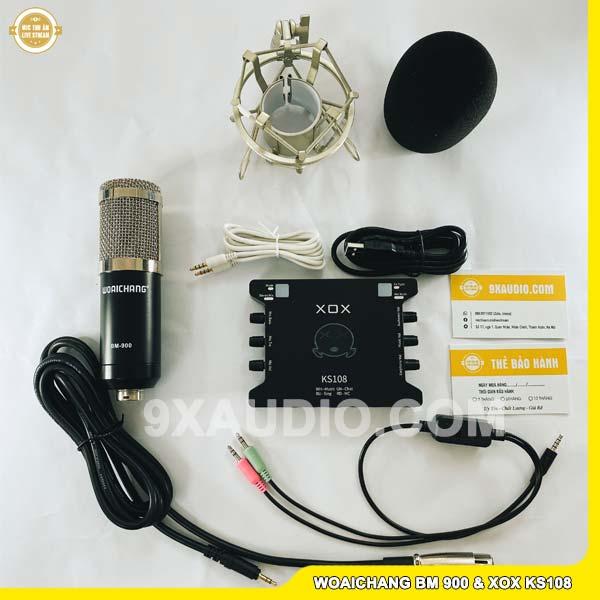 mic thu âm wc bm900 ks108 1