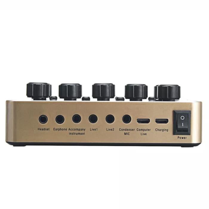 sound card âm thanh v10
