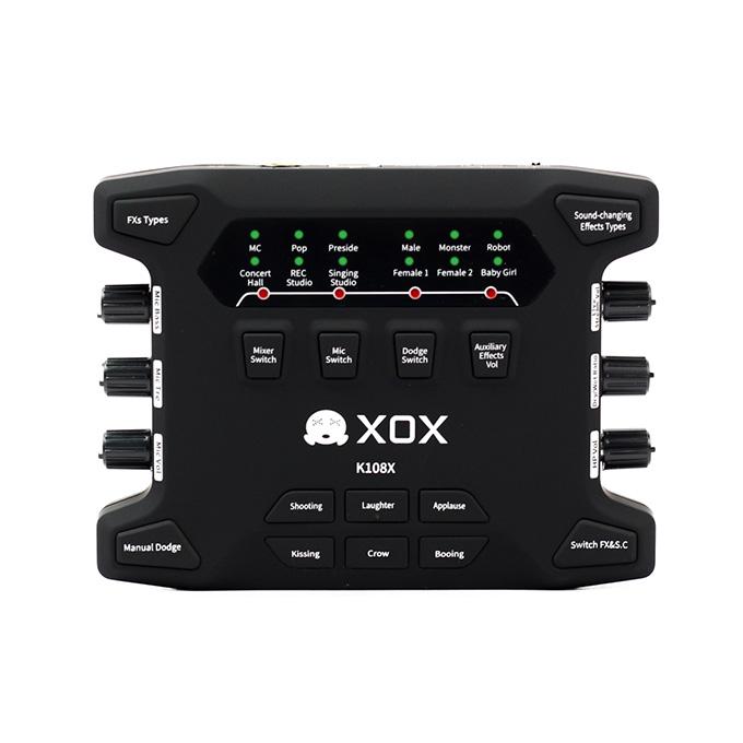 sound card âm thanh xox k108x 1