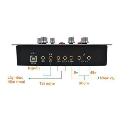 sound card hf 5000 pro 2