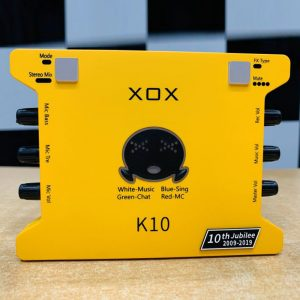 sound card xox k10th 2