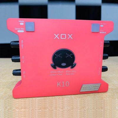 sound card xox k10th 3