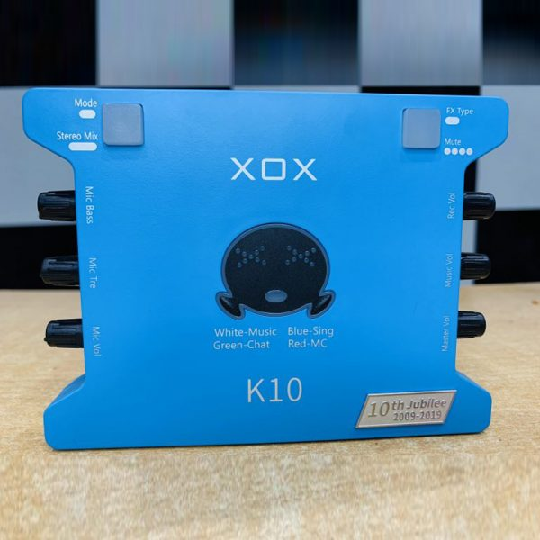 sound card xox k10th 4