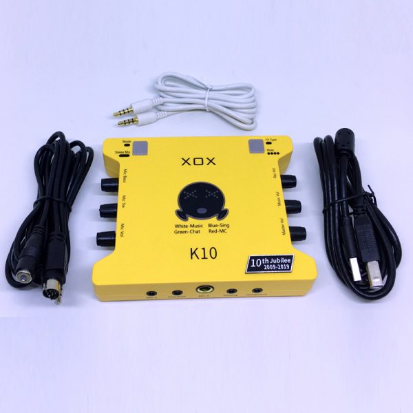 sound card xox k10th 5