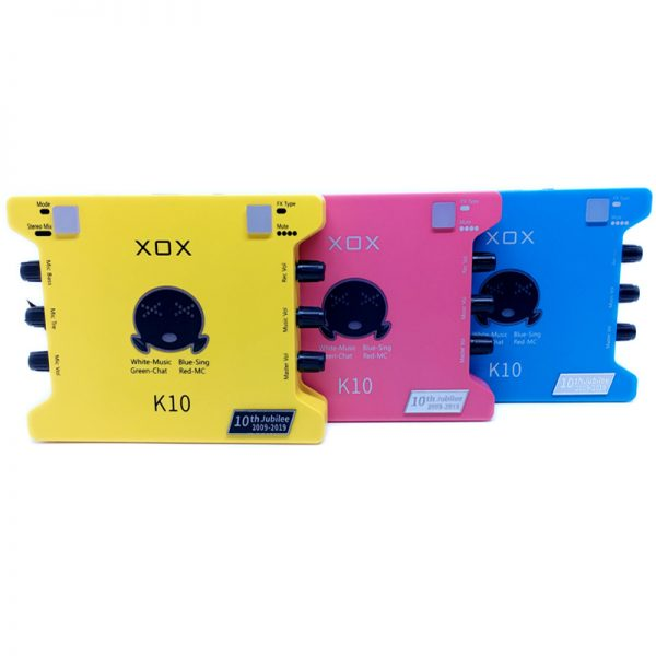sound card xox k10th 1