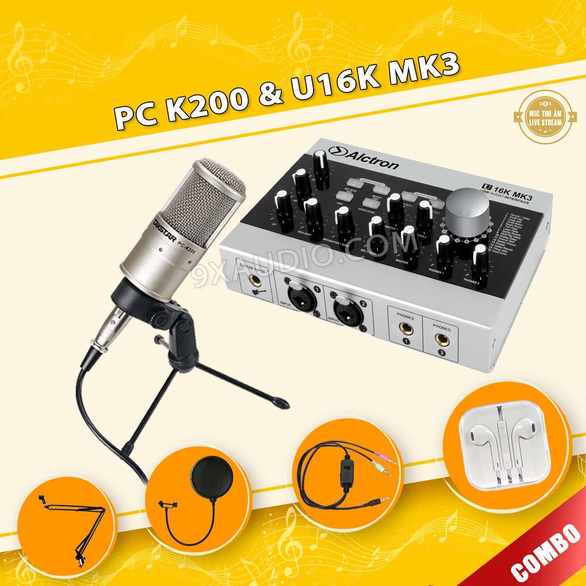 mic thu âm pc k200 u16k mk3 full 106