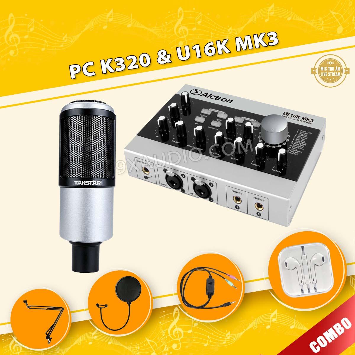 mic thu âm pc k320 u16k mk3 full 106 1
