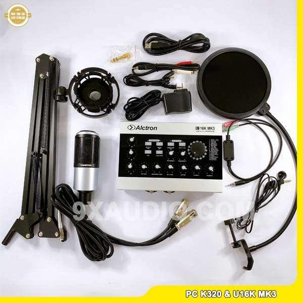 mic thu âm pc k320 u16k mk3