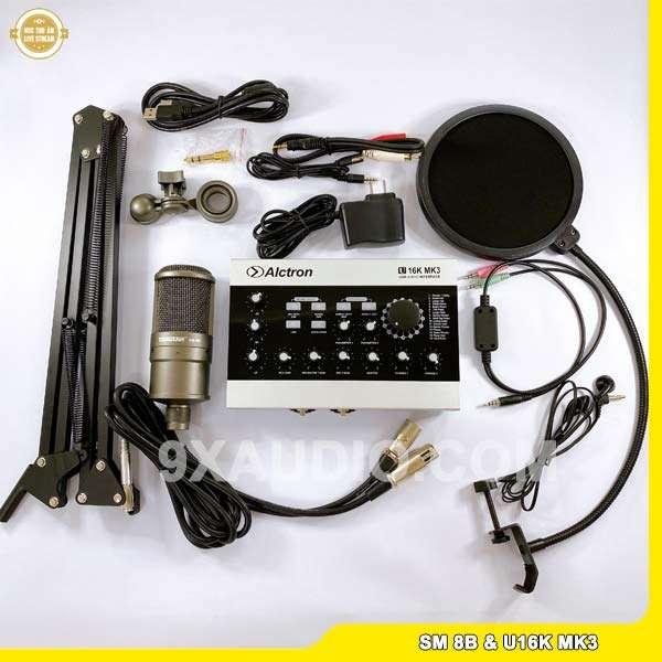 mic thu âm sm 8b u16k mk3 full