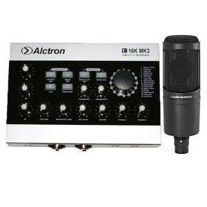 mic thu âm at2020 u16k mk3